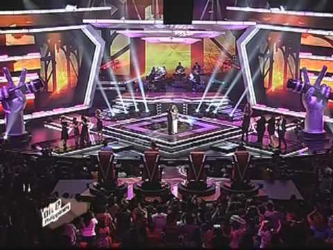 Lea sings with Patti Austin on 'Voice PH'