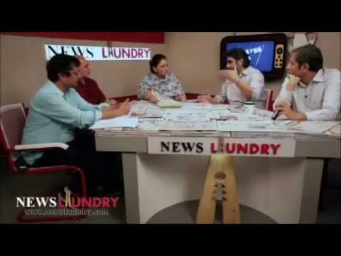Arvind Kejriwal all the way at News Laundry (top journalists discussing the impact of #Mufflerman)
