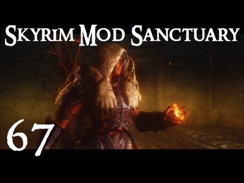 Skyrim Mod Sanctuary 67 : Aesir Armor, Warrior Within Swords and Immersive Beds