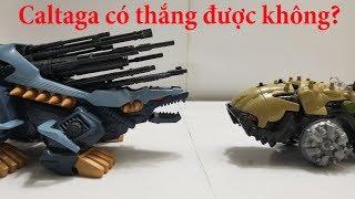 Zoids đồ chơi Thú Vương Đại Chiến caltaga vs Son of mad thunder
