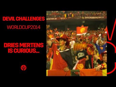 Dries Mertens est curieux ... / Dries Mertens is benieuwd ...