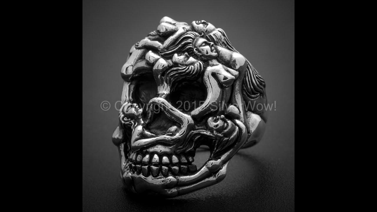 New Designs 2014 Part 1 Biker Bracelets Skulls