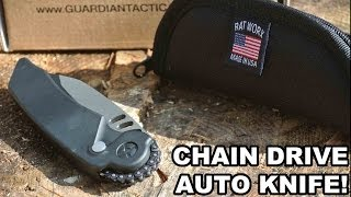 Chain Drive Auto Knife! Rat Worx MRX