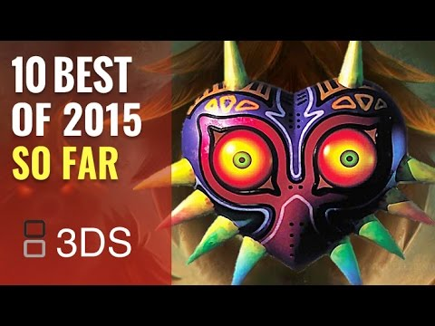 10 Best NEW 3DS Games of 2015 - HD