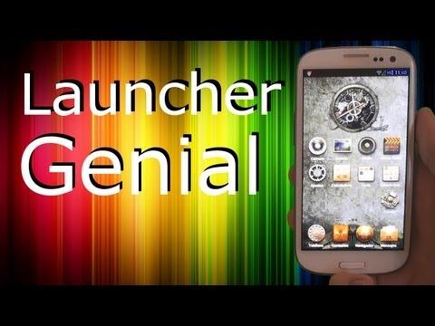 Personalización: Genial Launcher + Locker con TEMAS ! Pro Android