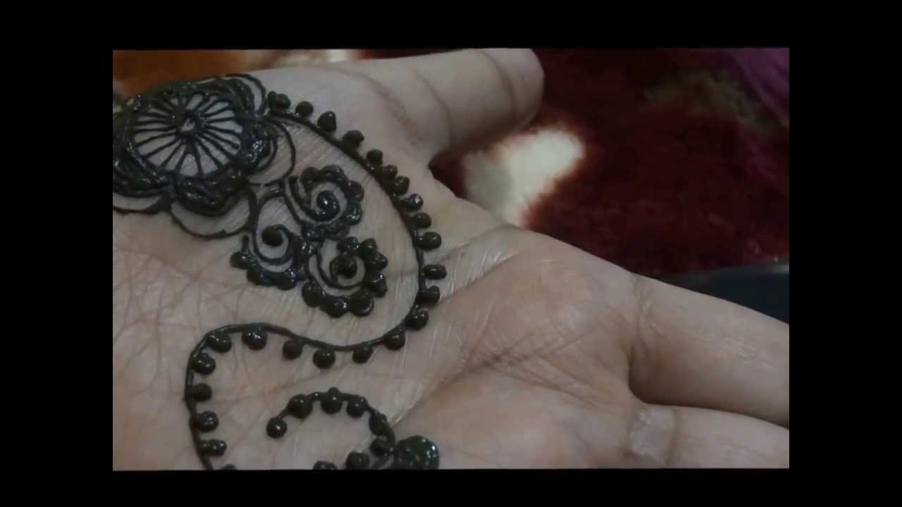 Quick Mehndi Patterns : Quick and easy henna tattoo design indian pakistani