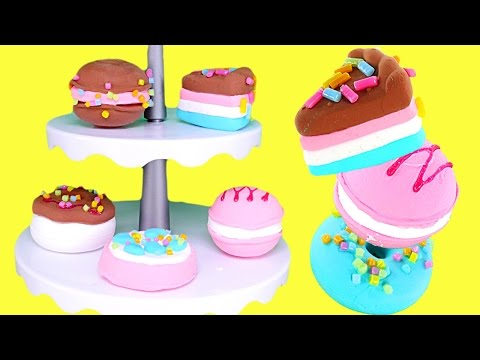 Poppit Pop 'N' Display Bakery How To Make 3D Sweet Treats using Clay   DCTC Toy Review