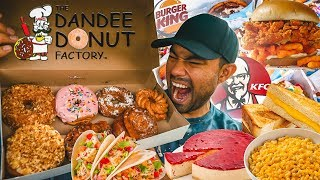 Epic 12000 Calorie Cheat Day | Eating Everything I Want