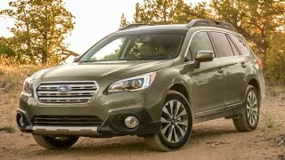 2016 Subaru Outback Start Up and Review 2.5 L 4-Cylinder