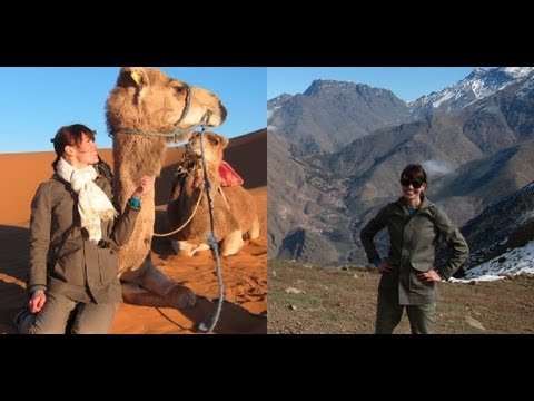 How To Pack For Adventure Travel: Morocco, Marrakech, Sahara Desert, Atlas Mountains