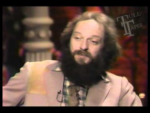 Ian Anderson 1982 Unaired complete interview Cable Music TV USA Jethro Tull Broadsword