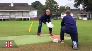 Wicket Keeping drills with Sam Billings