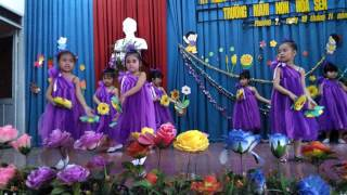 Múa mừng ngày 20-11 Trường mầm non hoa sen
