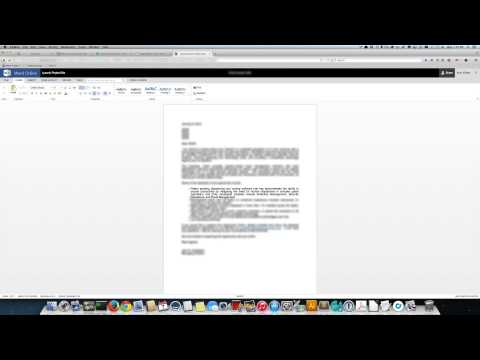 MS Word Online on a Mac Is Useless