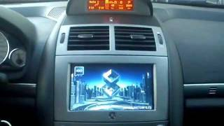 Peugeot 407 tablet multimedia