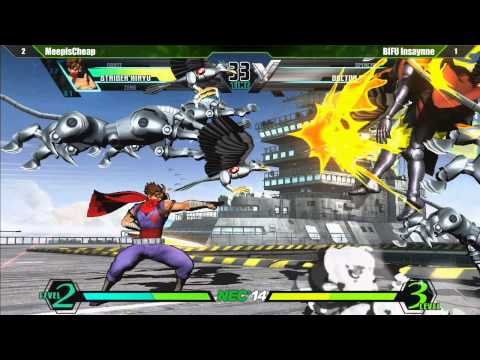 Ultimate Marvel vs Capcom 3 Pool Qualifier Matches Part 1 - Northeast Championships 14