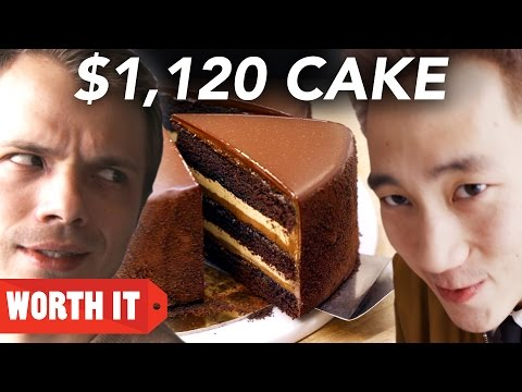 $27 Cake Vs. $1.120 Cake