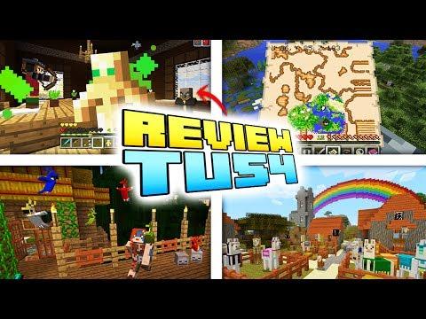 NUEVA ACTUALIZACION REVIEW TU 54 - Minecraft Xbox/Ps   ¡NO ES EL FIN DE MINECRAFT DE CONSOLA!
