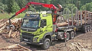 Volvo FMX 6x6 540hp with Umikov trailer