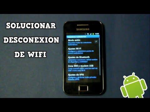 Como solucionar autodesconexion de WIFI en Samsung Galaxy Ace