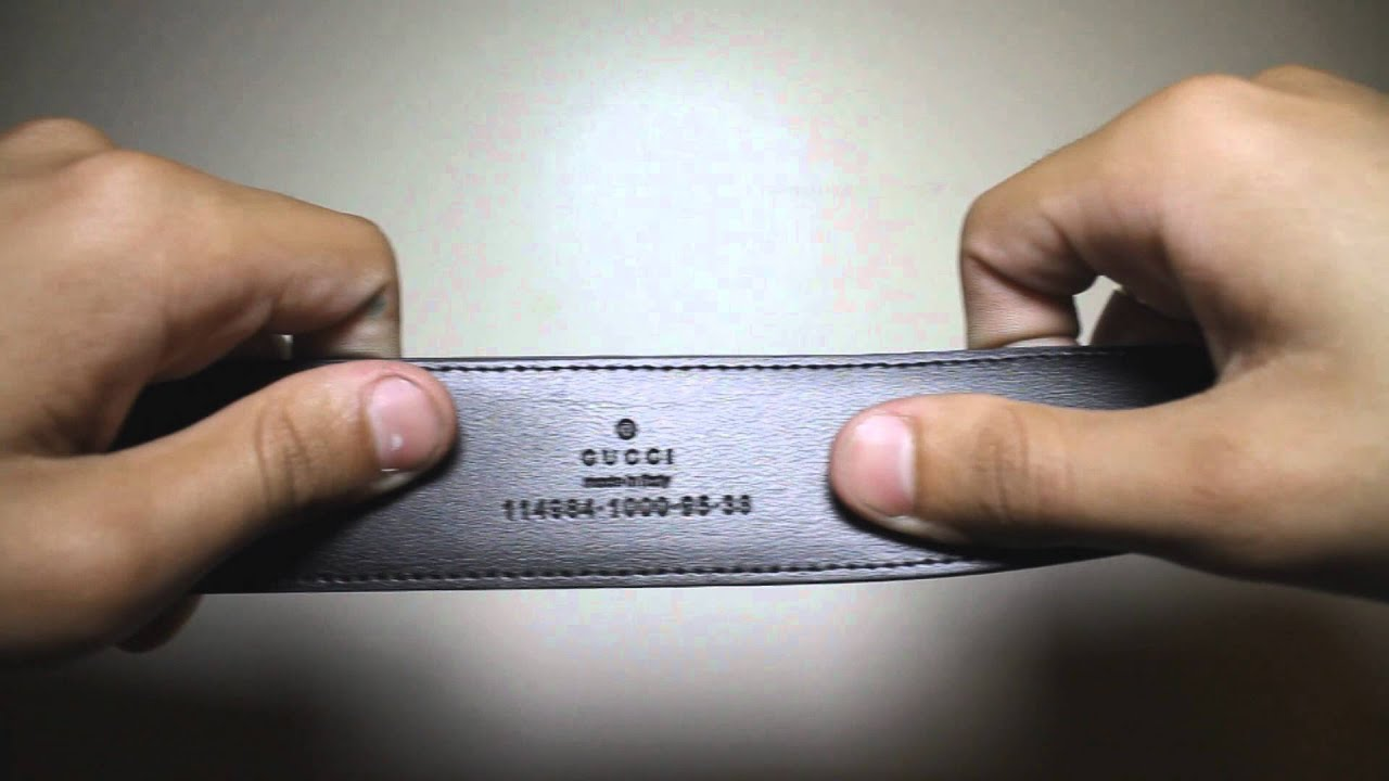 Gucci Belt Serial Number >> Authentic Gucci Belt With Price Tag & Serial Number For Sale! £110 - YouTube