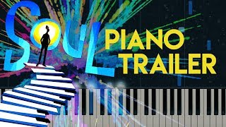 Pixar Soul Trailer Music | Piano Chords/Tutorial