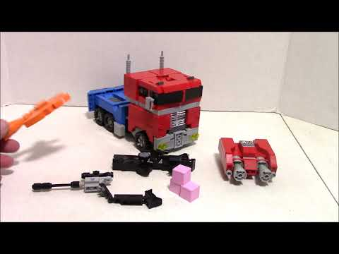 Lego Transformers G1 Optimus Prime OP-05 Rejected Lego Ideas Project by BWTMT Brickworks