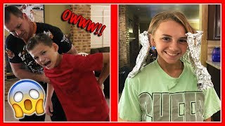 KAYLA'S HAIR IS CHANGING | We Are The Davises