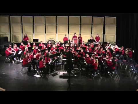 Grade 7/8 Concert Band: Cajun Folk Songs
