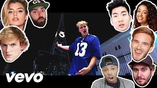 Jake Paul - YouTube Stars Diss Track (Official Music Video) Reaction