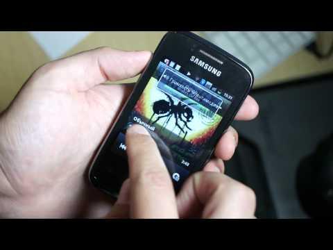 Видео Samsung GT-S6102 Galaxy Y Duos.MP4