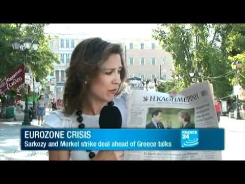 EUROZONE: Sarkozy and Merkel strike deal ahead of Greece talks