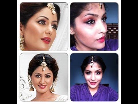 Akshara (Yeh Rishta Kya Kehlata Hai) inspired makeup tutorial...