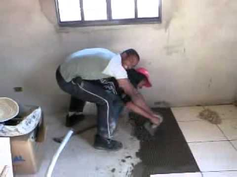Aulas de assentamento de piso ceramico youtube for Pisos ceramicos