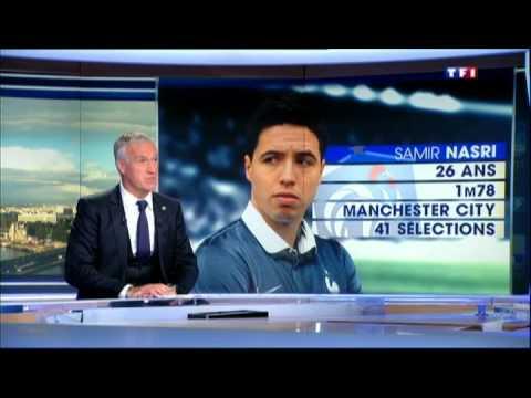 Didier Deschamps explique la mise à l'écart de Samir Nasri