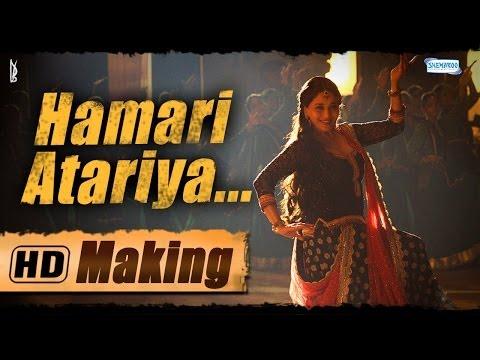 Hamari Atariya - Exclusive Making Of The Song - Dedh Ishqiya | Madhuri Dixit - Rekha Bhardwaj