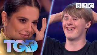 Inspiring dancer Andrew leaves Cheryl in floods of tears - The Greatest Dancer | Auditions