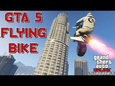 GTA FLYING BIKE !! (Pegassi Oppressor)