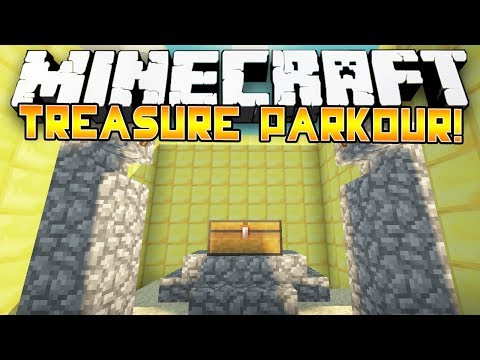 Minecraft: EPIC TREASURE PARKOUR w Preston