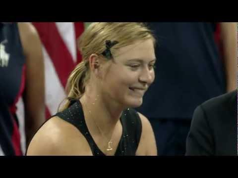 Maria Sharapova 2006 US Open Trophy