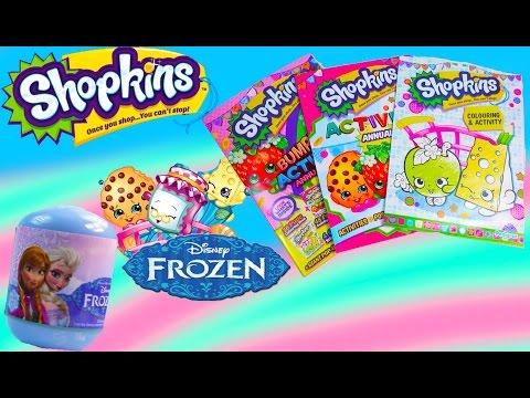 Shopkins Surprise Blind Bag Backpack Disney Frozen Mystery Minis Funko