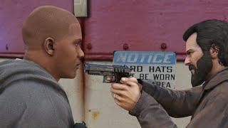 GTA 5 - Ending D / Michael kills Franklin Ending D