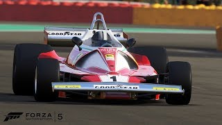 ferrari 312 T2 on the nurburgring circuit | my Personal Best lap on this circuit | Forza 5