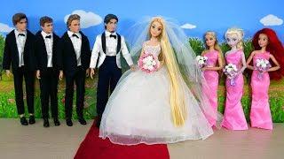 Tangled Princess Rapunzel Wedding Ceremony - Cinderella Castle Pernikahan Rapunzel Casamento