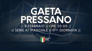 Serie A1M [17^]: Gaeta - Pressano 20-19