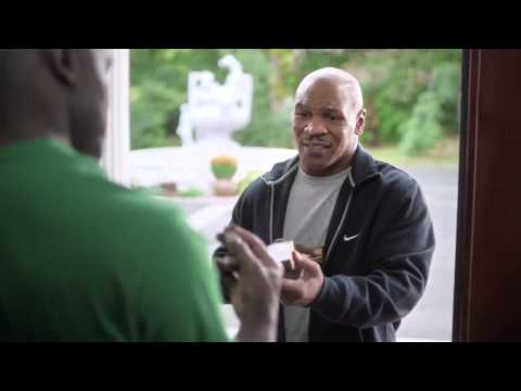 Check out this CRAZY Footlocker Commercial where Mike Tyson gives Holyfield back his ear! LOL!