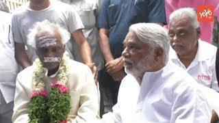Keshava Rao at Bandaru Dattatreya's Son Vaishnav Final Rites