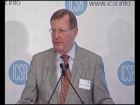 Lord David Trimble on Lessons from Northern Ireland -- Part 1