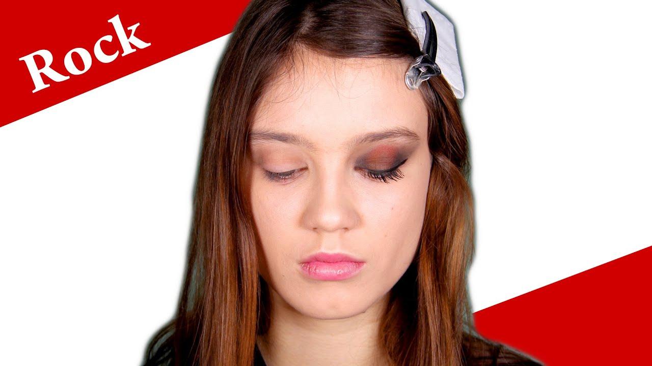 Punk Glam 80s Rock Makeup