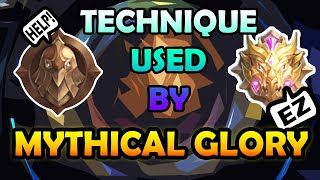 TECHNIQUE USED BY MYTHICAL GLORY| SOLO RANKING| Mobile Legends Season 12